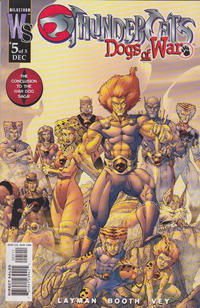 Cover Thumbnail for Thundercats: Dogs of War (DC, 2003 series) #5 [Brett Booth Cover Variant]