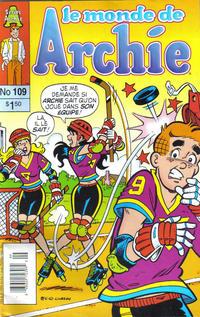 Cover Thumbnail for Le Monde de Archie (Editions Héritage, 1979 series) #109