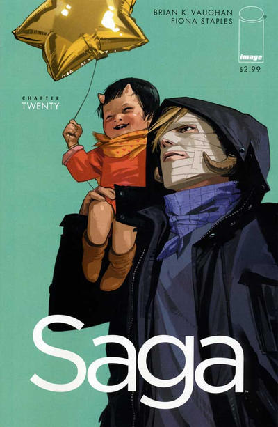 Cover for Saga (Image, 2012 series) #20