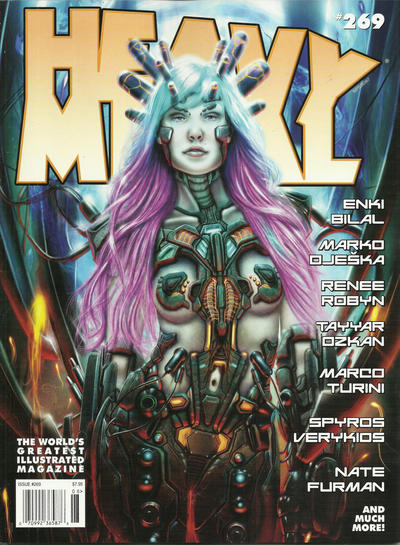 Cover for Heavy Metal Magazine (Heavy Metal, 1977 series) #269