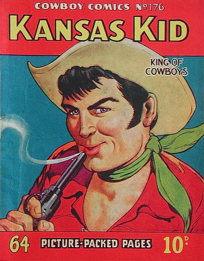 Cover for Cowboy Comics (Amalgamated Press, 1950 series) #176