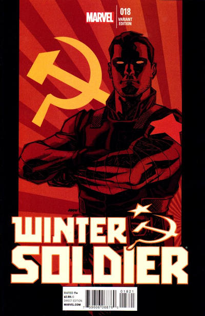 Cover for Winter Soldier (Marvel, 2012 series) #18 [Variant Edition]