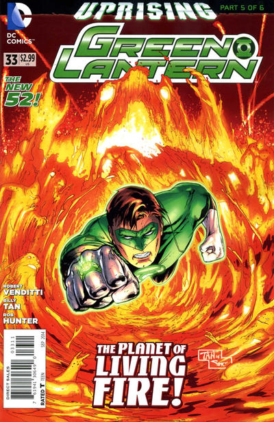 Cover for Green Lantern (DC, 2011 series) #33