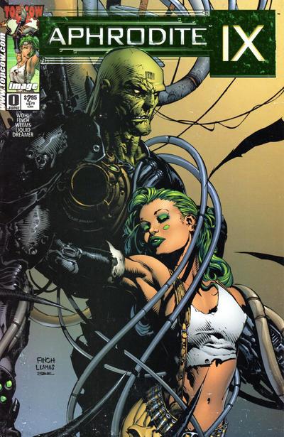 Cover for Aphrodite IX (Image, 2000 series) #0