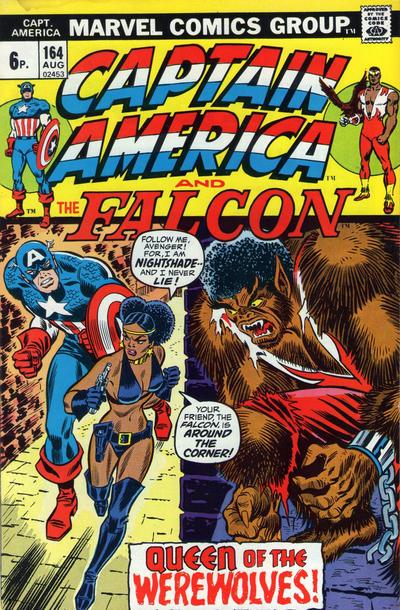 Cover for Captain America (Marvel, 1968 series) #164 [Regular Edition]
