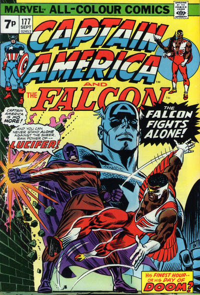 Cover for Captain America (Marvel, 1968 series) #177 [Regular Edition]