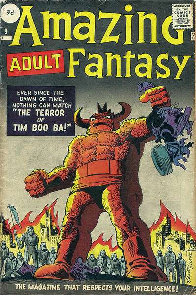 Cover for Amazing Adult Fantasy (Marvel, 1961 series) #9