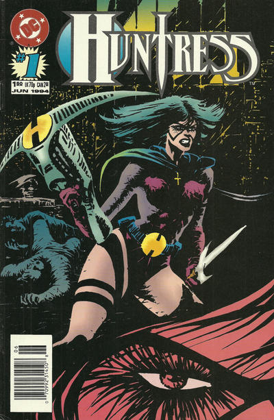 Cover for Huntress (DC, 1994 series) #1 [Direct Sales]