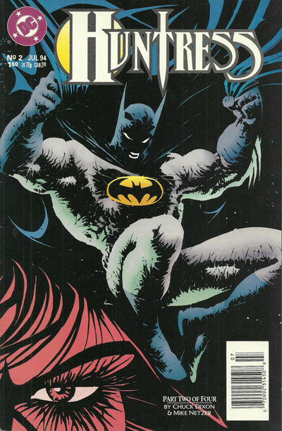 Cover for Huntress (DC, 1994 series) #2 [Direct Sales]