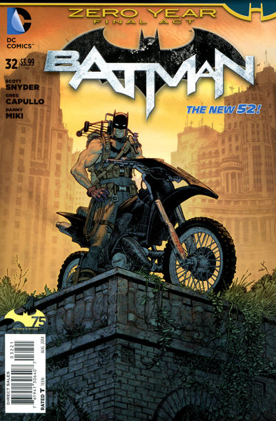 Cover for Batman (DC, 2011 series) #32 [Combo-Pack]