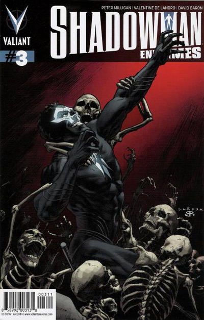 Cover for Shadowman: End Times (Valiant Entertainment, 2014 series) #3 [Cover A - Lewis LaRosa]