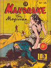 Cover for Mandrake the Magician (Feature Productions, 1950 ? series) #36