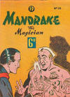 Cover for Mandrake the Magician (Feature Productions, 1950 ? series) #23