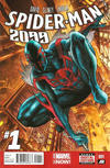 Cover for Spider-Man 2099 (Marvel, 2014 series) #1 [Direct Edition]