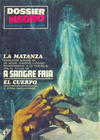 Cover for Dossier Negro (Ibero Mundial de ediciones, 1968 series) #4