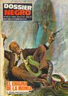 Cover for Dossier Negro (Ibero Mundial de ediciones, 1968 series) #18