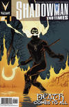 Cover for Shadowman: End Times (Valiant Entertainment, 2014 series) #1 [Cover A - Giuseppe Camuncoli]