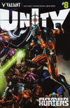 Cover for Unity (Valiant Entertainment, 2013 series) #8 [Cover A - Mico Suayan]