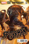 Cover Thumbnail for 100th Anniversary Special: Spider-Man (2014 series) #1 [Variant Edition - Alexander Lozano Cover]
