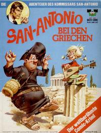 Cover Thumbnail for Bastei-Comic (Bastei Verlag, 1972 series) #16 - Die Abenteuer des Kommissars San-Antonio - San-Antonio bei den Griechen