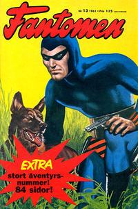 Cover Thumbnail for Fantomen (Semic, 1963 series) #13/1961