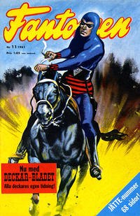 Cover Thumbnail for Fantomen (Semic, 1963 series) #11/1961