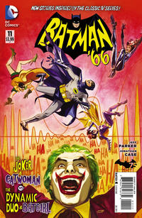 Cover Thumbnail for Batman '66 (DC, 2013 series) #11