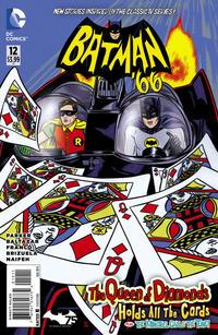 Cover Thumbnail for Batman '66 (DC, 2013 series) #12