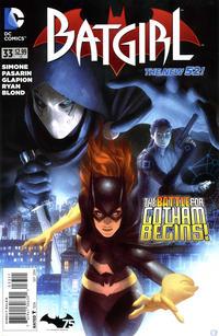 Cover Thumbnail for Batgirl (DC, 2011 series) #33