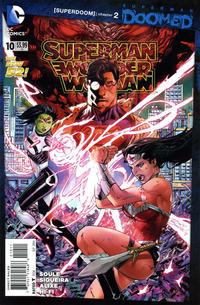 Cover Thumbnail for Superman / Wonder Woman (DC, 2013 series) #10