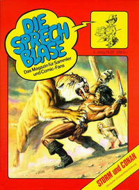 Cover Thumbnail for Die Sprechblase (Norbert Hethke Verlag, 1978 series) #29