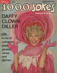 Cover Thumbnail for 1000 Jokes (Dell, 1939 series) #128