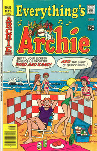 Cover Thumbnail for Everything's Archie (Archie, 1969 series) #60