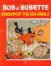 Cover Thumbnail for Bob & Bobette (Ravette Books, 1989 series) #6 - Kingdom of the Sea-Snails