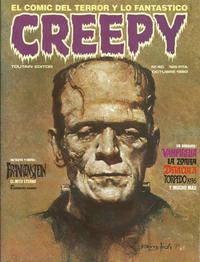 Cover Thumbnail for Creepy (Toutain Editor, 1979 series) #40