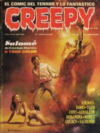 Cover Thumbnail for Creepy (Toutain Editor, 1979 series) #18