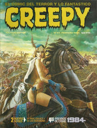 Cover Thumbnail for Creepy (Toutain Editor, 1979 series) #44