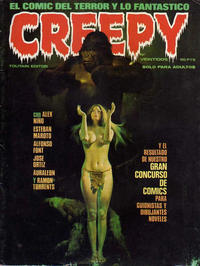 Cover Thumbnail for Creepy (Toutain Editor, 1979 series) #22