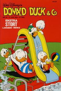 Cover Thumbnail for Donald Duck & Co (Hjemmet / Egmont, 1948 series) #24/1989