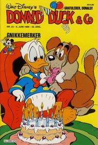 Cover Thumbnail for Donald Duck & Co (Hjemmet / Egmont, 1948 series) #23/1989