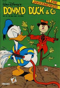 Cover Thumbnail for Donald Duck & Co (Hjemmet / Egmont, 1948 series) #22/1989
