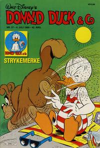 Cover Thumbnail for Donald Duck & Co (Hjemmet / Egmont, 1948 series) #27/1989