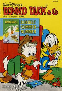 Cover Thumbnail for Donald Duck & Co (Hjemmet / Egmont, 1948 series) #28/1989