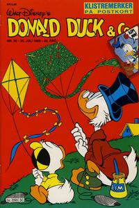 Cover Thumbnail for Donald Duck & Co (Hjemmet / Egmont, 1948 series) #30/1989