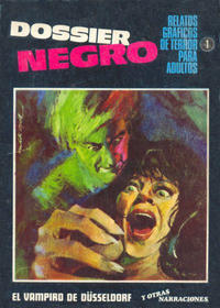 Cover Thumbnail for Dossier Negro (Ibero Mundial de ediciones, 1968 series) #1