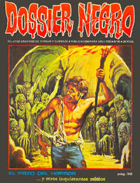 Cover Thumbnail for Dossier Negro (Ibero Mundial de ediciones, 1968 series) #45