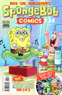 Cover Thumbnail for SpongeBob Comics (United Plankton Pictures, Inc., 2011 series) #34