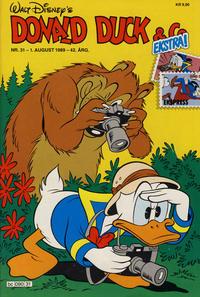 Cover Thumbnail for Donald Duck & Co (Hjemmet / Egmont, 1948 series) #31/1989