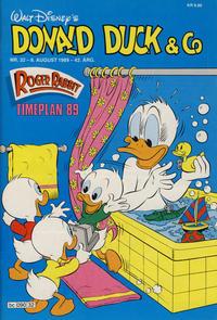 Cover Thumbnail for Donald Duck & Co (Hjemmet / Egmont, 1948 series) #32/1989