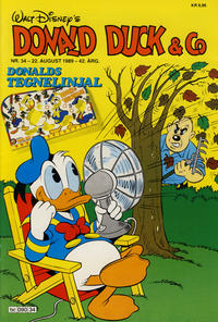 Cover Thumbnail for Donald Duck & Co (Hjemmet / Egmont, 1948 series) #34/1989